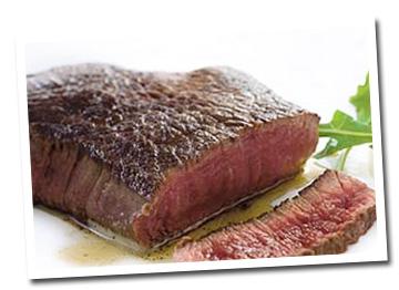 verzadigde vetten zoals biefstuk kan je met mate eten